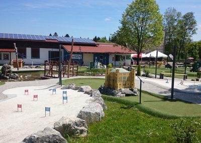 Minigolf in Lechbruck